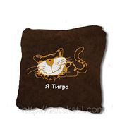 Подушка — сувенир «Я тигра» фото