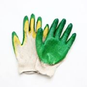 Перчатки рабочие с двойным латексным покрытием фото