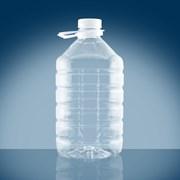 Пластиковая ПЭТ бутылка фото