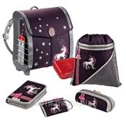 "Hama Step by Step ""Unicorn"" школьный рюкзак, набор из 6 предметов, 102578 фото"