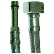 Шланг водопроводный ШВГ-ШД М10х1-L-Г 1/2 0,8м фото