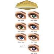 Линзы Eyemed Technologies Италия ADORE Dare цветные Сила от -16,00 до -0,25 фото