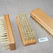 Щетка одежная из натуральной щетины арт. 04с1 фото