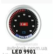 Дополниельный прибор Ket Gauge LED 9901 вольтметр. фото