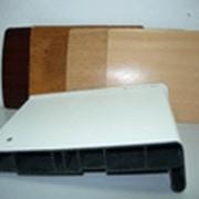Подоконник пласт. В-40 /700/ бел. /2,0м/ ламинат VPL фото