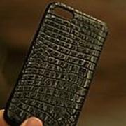 Чехол на iPhone 7 айфон из кожи крокодила фото