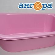 Ванночка детская розовая *5 (Ангора) фото
