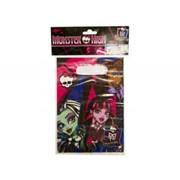 Пакет полиэтиленовый Monster High 8шт А