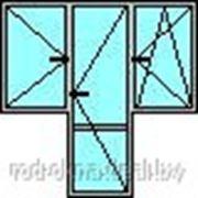 Окна ПВХ пластиковые + балконная дверь фото