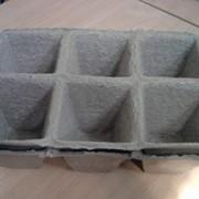 Торфяной горшочек 90*90 мм, квадратный фото