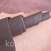 Натуральная кожа для кожгалантереи светло-коричневая арт. СК 2052 фото