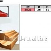Код товара: 2523 (D36 H11) Фреза гравировальная (пазовая фасонная) фото