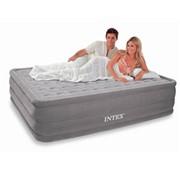 Надувная кровать Ultra Plush, 152х203х46 см фото
