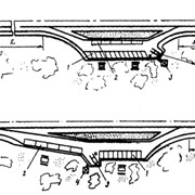 Проект заезда-выезда на АЗС фото