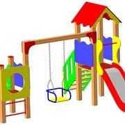 Спортивно-игровые комплексы для детей  фото