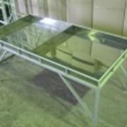 Стол специальный с регулировкой по высоте с вкладышем из нержавеющей стали фото