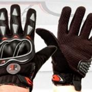 Перчатки летние S7 ( ткань, цвета и размеры в ассортименте) фото