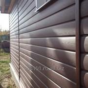 Сайдинг виниловый Блок-хаус 3,0 Grand Line®Amerika D4,8 фото