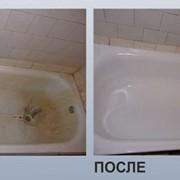 Реставрация ванн. Наливная ванна. Эмалировка ванн фото