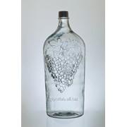 Стеклянная бутыль Пузан 7 литров фото