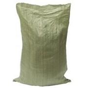 мешки полипропиленовые зеленые 55 х 95см., 50 гр. фото