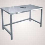 Стол для сбора отходов ССО-1 (вся нерж.) фото