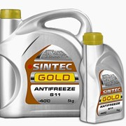 Антифриз Sintec, Gold G11(S11), 5кг/4 фото