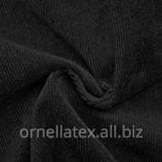 Вельвет нейлон с начесом S13278 черный фото