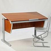 Набор парта со стулом СУТ 15-04 с рисунком+СУТ 01 фото