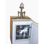 Пластометр сжимающий с термостатом t +70град и электронным цифровым индикатором ц.д.0,005 ПСМ-2 фото