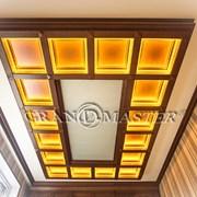 Кессонный потолок фото