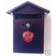 Ящик почтовый Домик Элит с замком фото