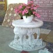 Садовый столик фото