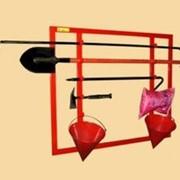 Щит пожарный каркасный металлический открытый ПРЕСТИЖ фото
