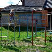 Детский городок шестигранный фото
