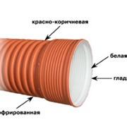 Трубы гофрированные фото