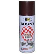 Грунт Bosny №168 красно-коричневый аэрозоль 300г фото