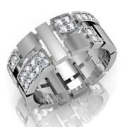 Кольца с бриллиантами M30668-1 фото