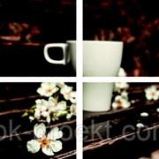 Модульная картина Кофе тип 5 (1.29х0.9м) фото