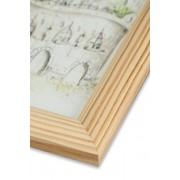 Рамка а4 из дерева Сосна фото