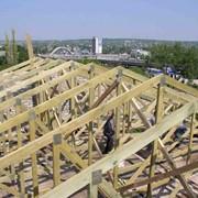 Зведення дерев'яних конструкцій фото