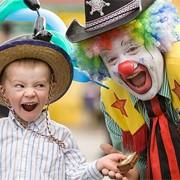 Организация детского Дня Рождения с клоунами фото