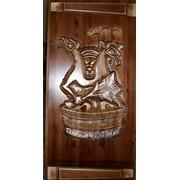 Двери деревянные. фото
