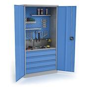 Шкаф металлический инструментальный КД-04-И фото