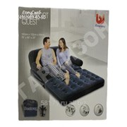 Двухместный надувной диван BestWay(внешний электронасос) фото