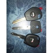 Чип ключ фото