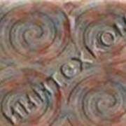 "Тротуарная плитка ""Спираль"" фото"