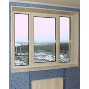 Окна из металлопластика, ПВХ фото