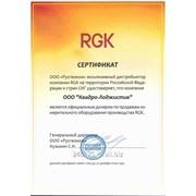 Нивелирная рейка RGK, TS-3 фото