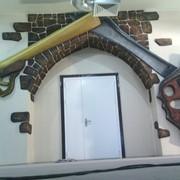 Декорации из бетона для детских площадок фото
